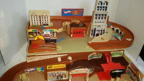 Rare 1979 Vintage Mattel Hot Wheels City Sto N Go Play set F