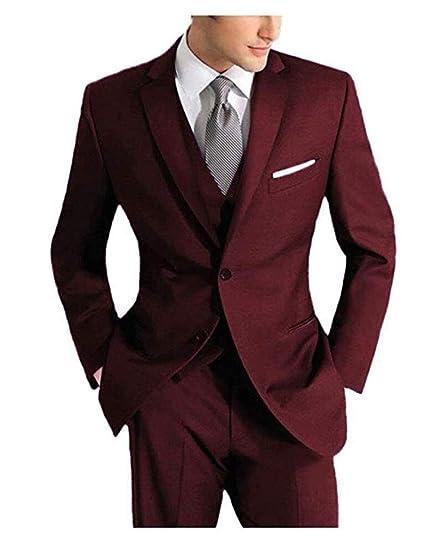 Navy Peak Lapel Men/'s Wedding Groom Tuxedos Groomsman Best Man Party Prom Suits