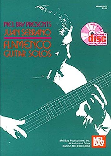 Mel Bay Juan Serrano/Flamenco Guitar Solos Book/CD Set