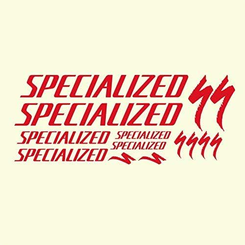 CECILIAPATER Specialized S-Works Pegatinas para Marco de Bicicleta ...