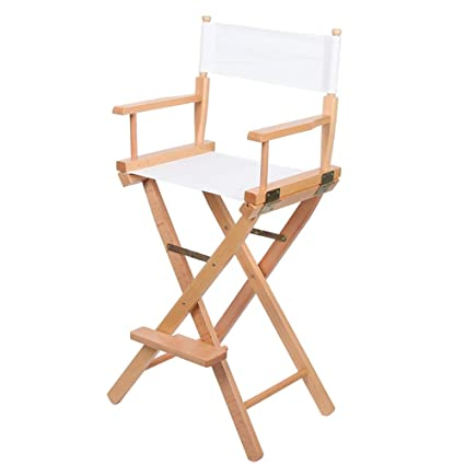 Silla del director, silla plegable portátil de madera de ...