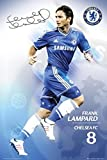 Chelsea Frank Lampard Soccer Football Sports Poster 24x36