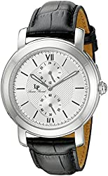 Lucien Piccard Watches Spiga Leather Band Watch