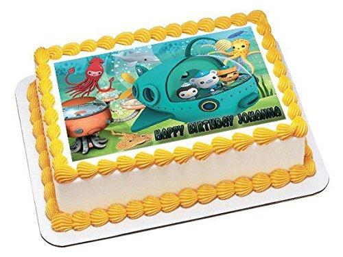 Amazon Octonauts 2 Edible Birthday Cake Or Cupcake Topper 75