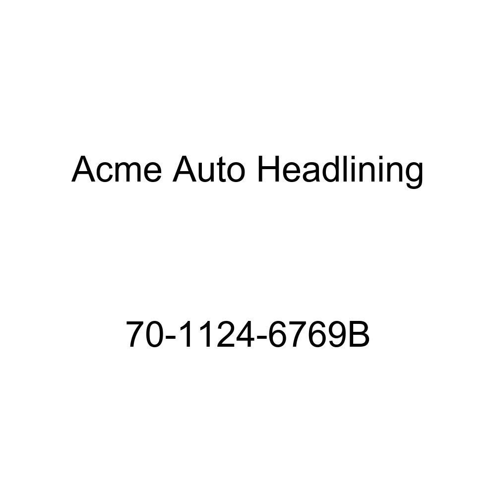 Acme Auto Headlining 70-1124-6769B Black Replacement Headliner 1970 Buick Skylark 4 Door Hardtop