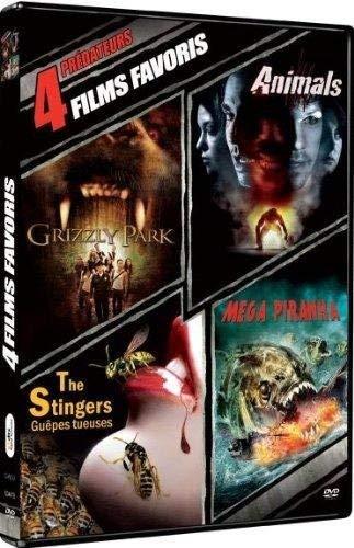 Predateurs (Grizzly Park + Animals + The Stingers + Mega Piranha)