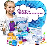 Learn & Climb Kids Science Set - Over 60 Experiments Kit, How-to DVD and Instruction Manual. 55 Pieces, Year-Round Fun Educational Science Activities