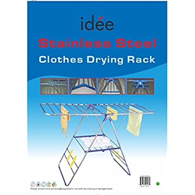 idée Stainless Steel Clothes Drying Rack, PDR01E