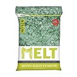 Snow Joe MELT25EB MELT 25 Lb. Resealable Bag Premium Environmentally-Friendly Blend Ice Melter w/ CMA
