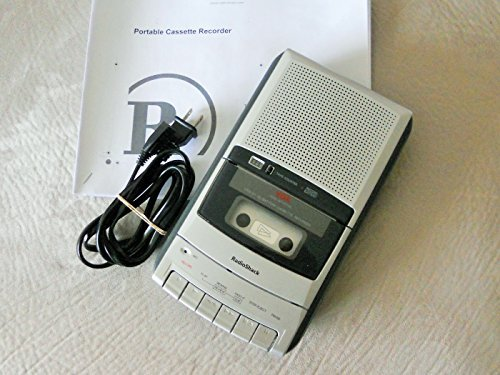 RadioShack CTR-121 Desktop Cassette Recorder (Player Tape Recorder)