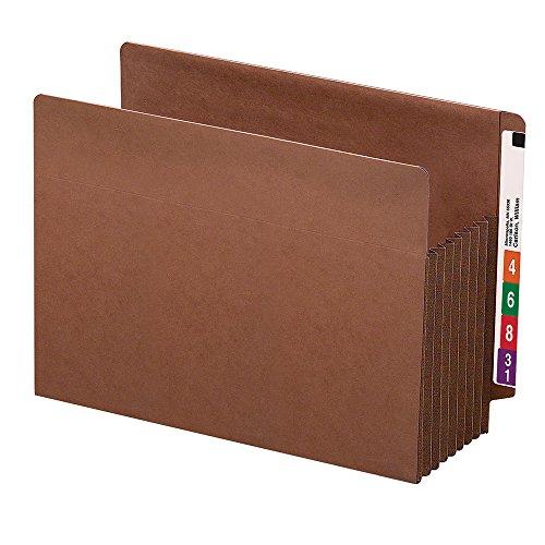 Smead End Tab TUFF File Pocket, Reinforced Straight-Cut Tab,