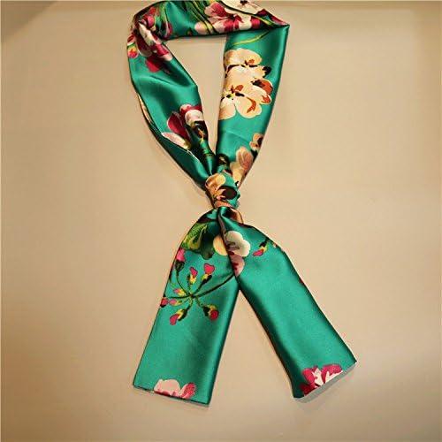 La versión coreana del Sol delgado rectangular largo bufandas ...