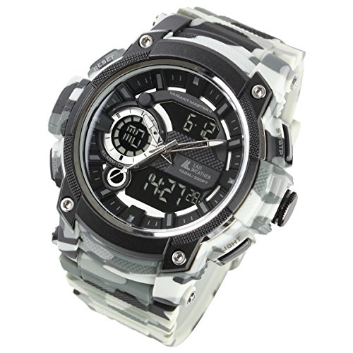 Field Expedition Watch Military ([LAD Weather] Military Watch/Triple time/Survival Game/Outdoor/100m Water Resistance)