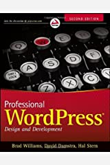 By Brad Williams - Professional WordPress: Design and Development (2nd Edition) (12/19/12) Paperback