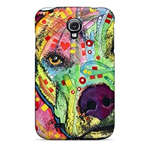 WandaDicks Samsung Galaxy S4 Protector Hard Phone Covers Provide Private Custom High-definition Pit Bull Dean Russo Series [grI6884OqKv]