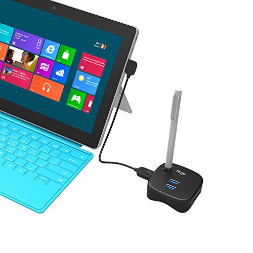 MAKETECH Mini Multi-Function Surface Pro 4/3 USB 3.0 Hub Docking Station, with 2 USB 3.0 Ports, 1 Gigabit Ethernet Port and SD/TF Card Slot for Microsoft Surface, MacBook, Ultrabook and Laptop