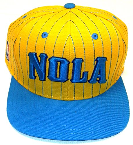 NBA New Orleans Hornets Authentic On-Court Adjustable Snapback Hat, One Size