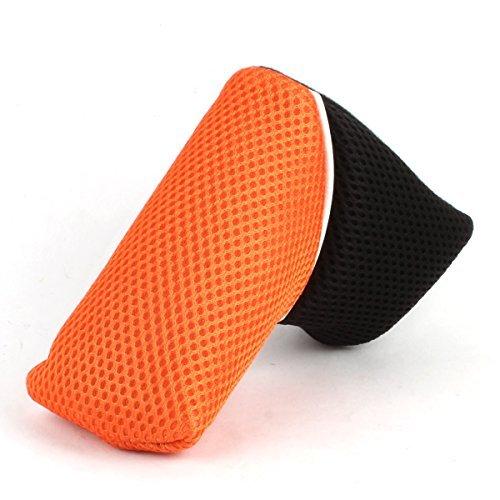 Craftsman Golf Blade Putter Head Cover Black Orange Mesh For Titleist Scotty Ping Callaway Odyssey (Black & Orange)