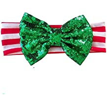 Merry & Bright Headband, Green