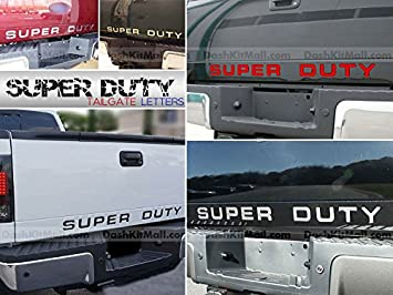 SF Sales USA Black Letters for Super Duty 2008-2016 Dashboard Inserts Not Decals