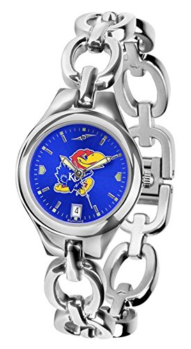 UPC 842542066065, Kansas Jayhawks Eclipse Ladies Watch with AnoChrome Dial