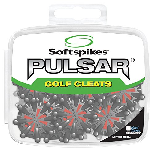 Softspikes Pulsar Cleat Small Metal Thread (22 Count Kit)