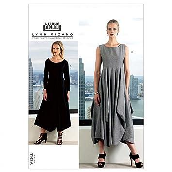 Vogue Lynn Mizono Designer Schnittmuster 1312 Damen Kleid Größen: 16 ...
