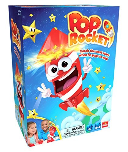 Goliath Games 31204 Pop Rocket Game, Red/White