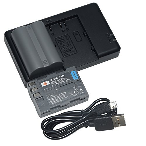 DSTE 2X EN-EL3E Battery + Rapid Dual Battery Charger with Micro USB Cable for Nikon D70 D70S D80 D90 D100 D200 D300 D300S DSLR D700 Camera as EN-EL3