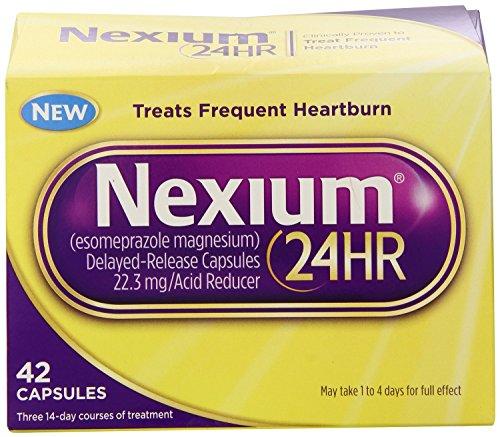 Nexium 24HR Capsules, Value Size Pack 84 Count Value Pkg -