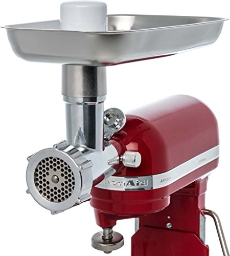 Jupiter Metal Food Grinder Attachment for KitchenAid Stand Mixers, 478100 by Seneca River Trading