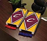 Victory Tailgate Cleveland Cavaliers NBA Basketball Desktop Cornhole Game Set Diamond Version