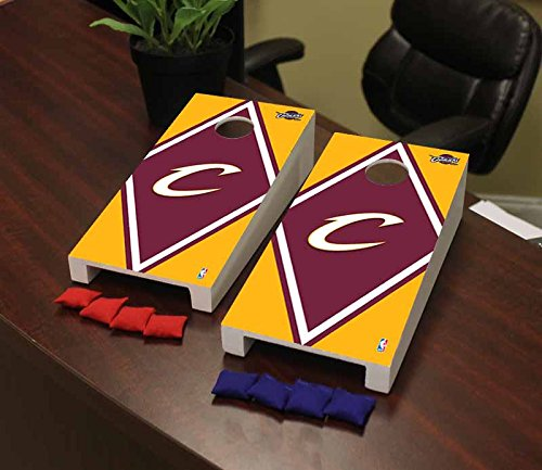 Victory Tailgate Cleveland Cavaliers NBA Basketball Desktop Cornhole Game Set Diamond Version by Victory Tailgate
