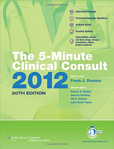 The 5-Minute Clinical Consult 2012: Standard W/ Web...