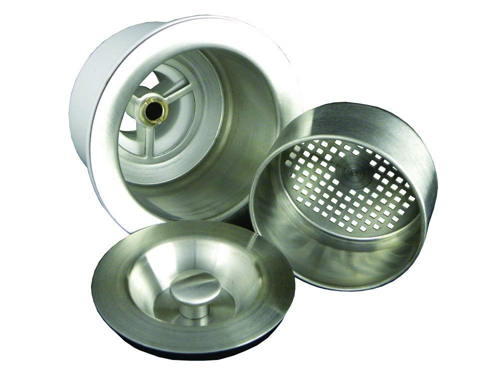 Opella 12'' x 12'' Bar/Prep Sink & Basket Strainer Package in Brushed Stainless Steel, Undermount or Drop-In Installation