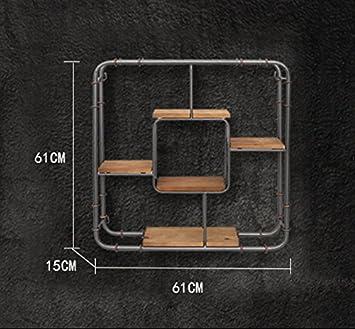 Storage rack z ZWL Retro Shelf, Creative Woody Wall Mount
