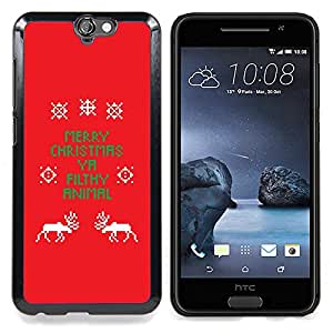 "Planetar ( Spots Pattern Acuarela Animales"" ) HTC One A9 Fundas Cover Cubre Hard Case Cover"