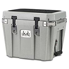 ORION Heavy Duty Premium Cooler (25 Quart, Stone), Durable Insulated Ice Chest for Maximum Cold Retention - Portable, Bear Resistant, and Long Lasting, Great for Hunting, Fishing, Camping