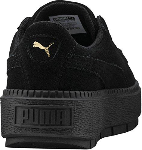 puma plateforme noir