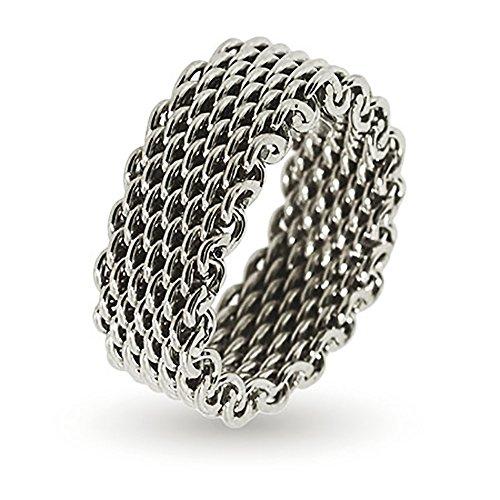 Tiffany Sterling Silver Mesh (Sterling Silver Mesh Ring)
