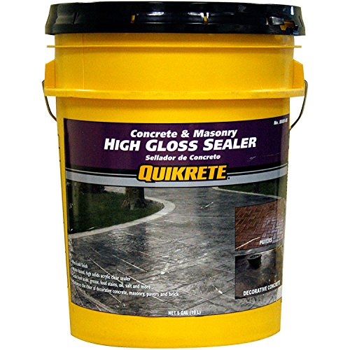 Quikrete High Gloss Sealer wet look 5 gal