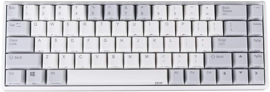 EPOMAKER NiZ Plum Atom 68 Electro-Capacitive Bluetooth Keyboard for Laptop PC Gamers (68 Key Bluetooth)