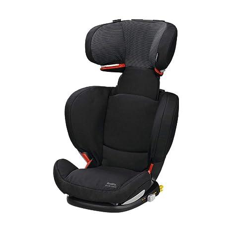 Bébé Confort RodiFix AirProtect silla de auto para niño con ISOFIX, reclinable, segura y ligera, desde los 3,5 hasta los 12 años, 15-36 kg, negro ...