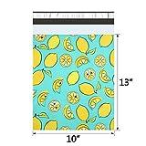 UCGOU Poly Mailers 10x13 Inch Lemon Designer 100