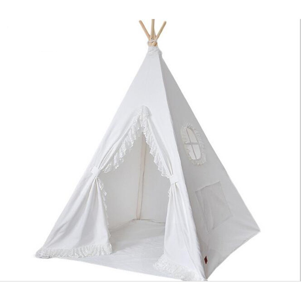 Free Love @Pure white lesi design children game room kids play house kids play tent Teepee by FREE LOVE (Image #1)