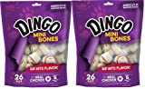 Dingo Brand Dog Rawhide Chews, Mini, White, 52 Count (2 x 26CT Packs) Review