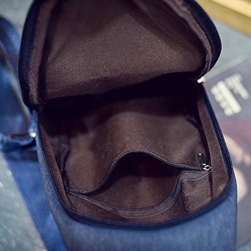 Aoligei Poitrine paquet Korean homme couple unique sac à bandoulière besace en casual hommes et femmes petit sac