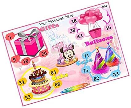 Party Stuff Birthday Theme Tambola Housie Tickets