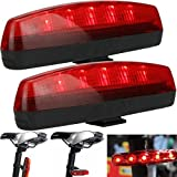 New Arrival Latest Design Bicycle 5 LED 8 Modes Flashing Tail Light/Rear Lamp