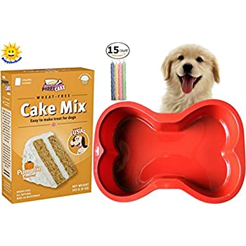 Happybotham Puppy Cake Pumpkin Mix Frosting Wheat Free Dogs